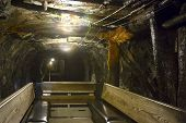 Interior Anthracite Coal Mine