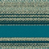 Old-style background, aging texture. With different color patterns: blue, gray