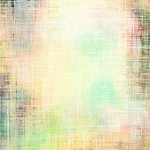 Art grunge vintage textured background. With different color patterns: yellow, green, gray