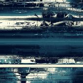Grunge background with vintage and retro design elements. With different color patterns: blue, gray, white, black