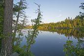 Twilight On A North Woods Lake
