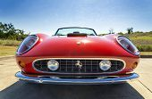 Red 1962 Ferrari 250 Gt California Spyder