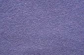 Texture From A Wool Yarn Of Violet Color