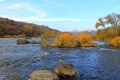 Southern Bug River in Ukraine