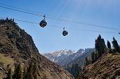 Ski Lifts To Shymbulak Ski Resort
