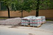 Sidewalk Concrete Blocks