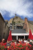 Terrace At Mont Saint Michel
