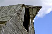 Old Weathered Barn Hayloft Doors