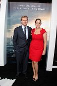 LOS ANGELES - OCT 26:  Christopher Nolan, Emma Thomas at the