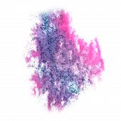 stock photo of insults  - Abstract watercolor background lilac - JPG