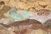 stock photo of mica  - Death Valley in California United States - JPG