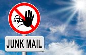 pic of spam  - stop junk mail and spam - JPG