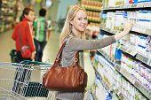 foto of supermarket  - Shopping - JPG
