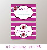 picture of hen party  - A set for weddings and bachelorette party invitation - JPG