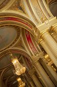 foto of bordeaux  - Interior of Opera in the city of Bordeaux France - JPG