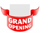 grand opening ribbon