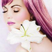 Постер, плакат: Розовый красоты