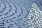 Glass Building And Its Reflections