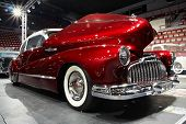 HELSINKI, FINLAND - OCTOBER 3: X-Treme Car Show, showing 1946 Buick Roadmaster Sedan on October 3, 2