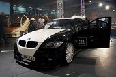 HELSINKI, FINLAND - OCTOBER 3: X-Treme Car Show, showing tuned 2006 BMW 325i on October 3, 2009 in H