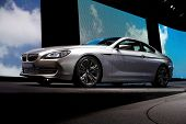 PARIS, FRANCE - SEPTEMBER 30: Paris Motor Show on September 30, 2010, showing BMW Concept 6-series C