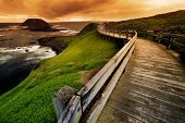 Boardwalk on Australian Coastline