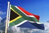 South Africa Flag (Clipping Path)