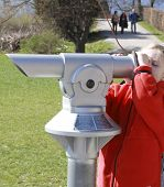 Girl With Telescope1
