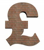 Rebuilding the British economy or the British construction industry pound symbol