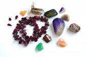 semi-precious stones from Ural