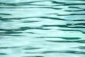 Texture of turquoise water background