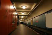 underground station, berlin, germany