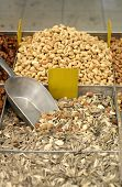sunflower seed and other nut mix in market