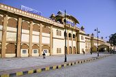 railway station, ajmer, rajasthan, india