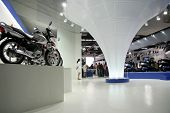 honda autoexpo hall, delhi, india