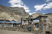 hotel lodge in manang, annapurna, nepal