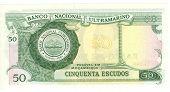 Bill 50 escudo de Moçambique, 1986