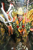 stock photo of kali  - Statue of Hindu goddess Kali in Delhi - JPG
