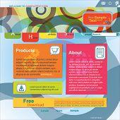 Abstract Design Website Template