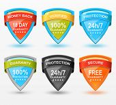 Vector Web Badges