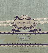 Vintage card design 1