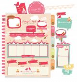 Cute scrapbook elements (9)