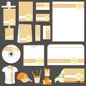 Abbildung Reihe von Business-Template für Werbung