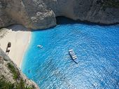 Shipwreck Beach In Zakynthos Greece 1