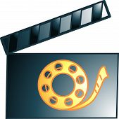 Movie Clacker Icon Or Symbol