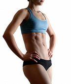 Aerobic Woman Body