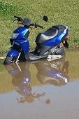 Flooded Stalled Moped