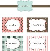 Cute Label Set