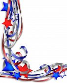 Patriotic Stars And Ribbons 1