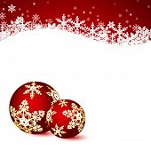 picture of adornments  - Christmas background - JPG